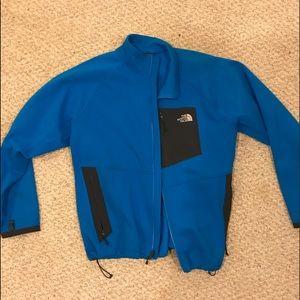 The North Face Light Blue Zip Up Jacket XXL